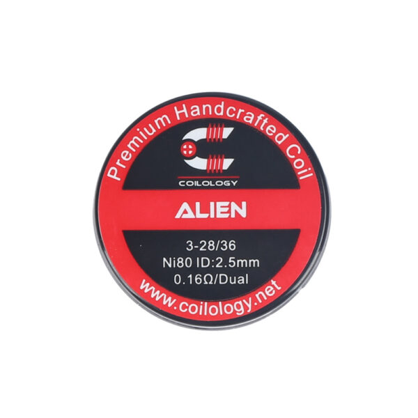 Coilology Alien Coil Set NI80 0.16OHM