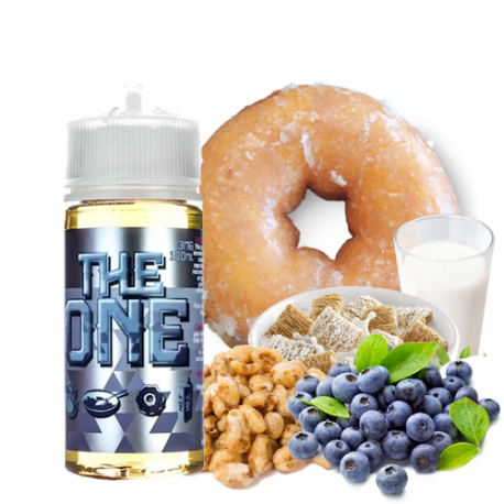 THE ONE BLUEBERRY E-LIQUID BEARD VAPE CO.